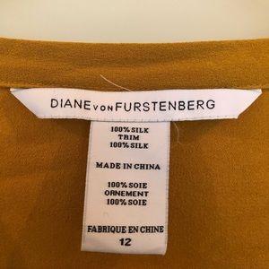 DVF Diane von furstenburger silk dress Size 12